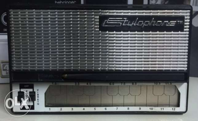 Stylophone retro portable pocket synthesiser