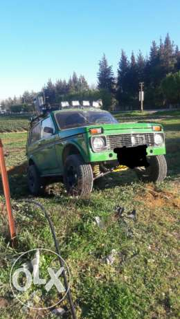 Lada niva model 90 off road
