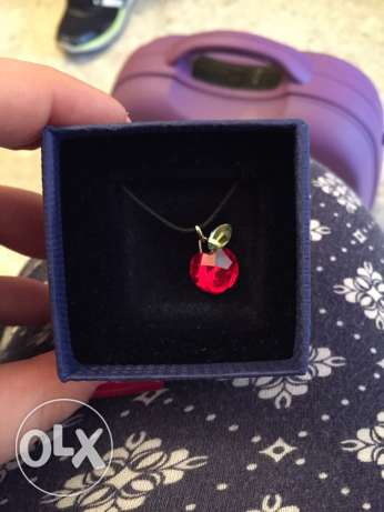 Swarovski Apple necklace