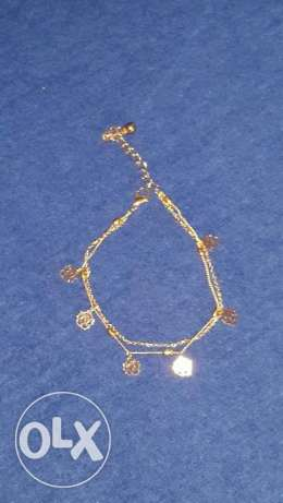 Double Layer Gold Bracelet Chain