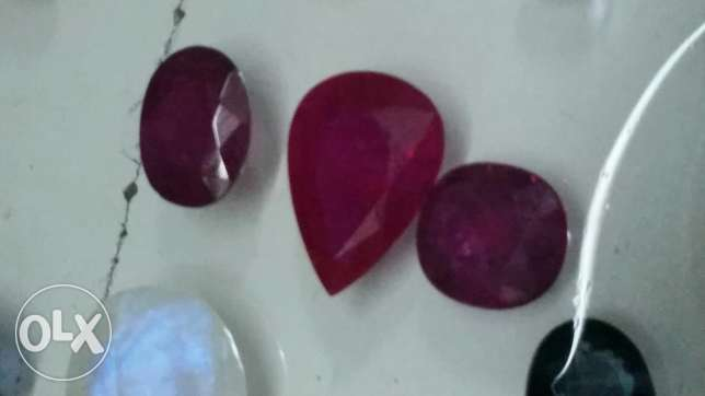 Beautiful natural 10 carats ruby pear shape