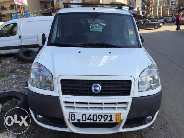fiat doblo mod2007 full option with AC from GERMANY ابو سمراء -  1