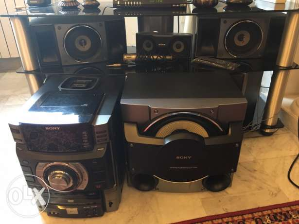Sony massive bass system