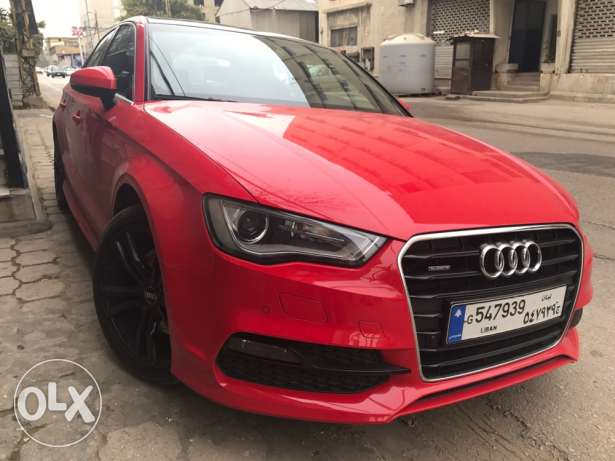 2015 Audi A3 - S Line - Special Edition - 1.8T - 40 TFSI - 200 HP
