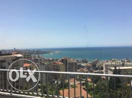 Apartment for rent in haret sakher with a sea view