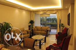 Furnished Apartment with Terrace for Sale in Mazraat Yachouh