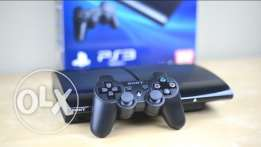PS3 SUPERSLIM new+2 controllers +3 games
