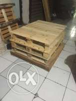 5 wooden pallets high capacity 5 pieces