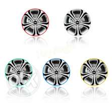 "New! 16 Pcs Strips Wheel Stickers And Decals 14"" Reflective Ri"