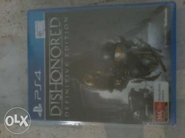 Dishonored definitive edition a5o 2al jaded mosta3mal jom3a ktir 7elo