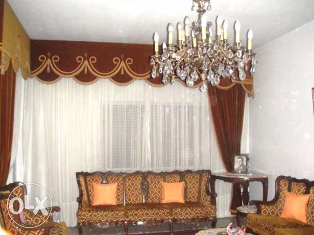 For rent fully furnished flat, 180 M2, in Sarba, kaslik, Jounieh