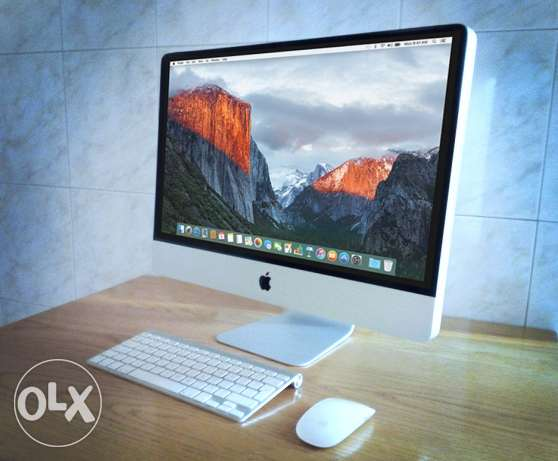 Apple iMac 21 inch screen with 12Gb of ram