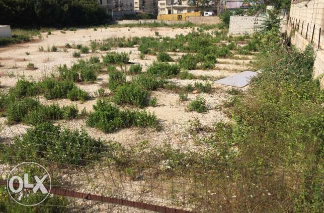 A spacious Land of 1700 sqm strategically located in zalka