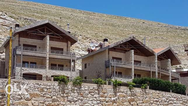 Faraya Villa Duplex with Private Garden - 50 mtr. fm Ski Slop