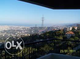 Apt for rent in Chemlen-close to Bchamoun & Aley-super views of Beirut