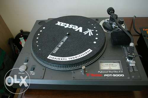 Vestax turntables