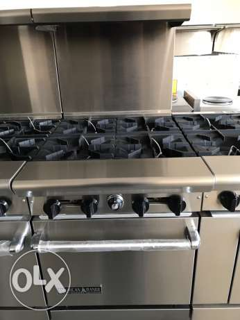 Gas 4 Burners with Oven - Made in the USA
