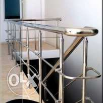 Stainless steel railing and more