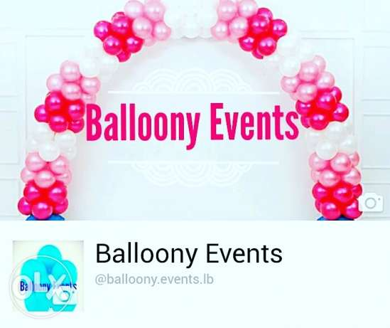 Balloons stands