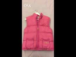 Pink gilet for sale