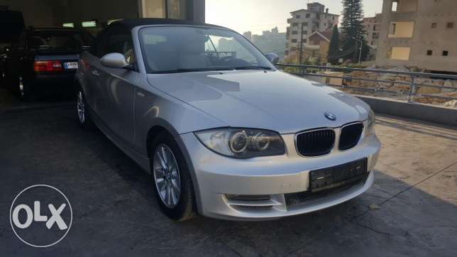 Bmw 120 i sports package cabriolet 2009
