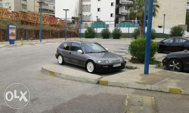 Honda civic 1989