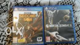 Ps4 2 games for sale