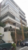 Apart.300m rent in hazmieh with a covered parking