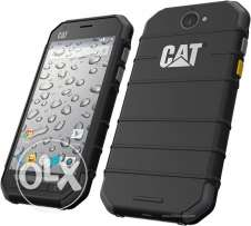 Caterpiller phone water proof and broken proof great condition