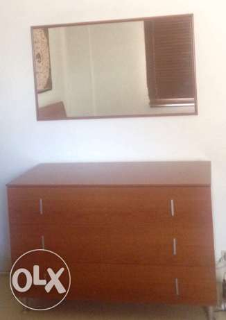 Chiffoniere + Mirror + Commode