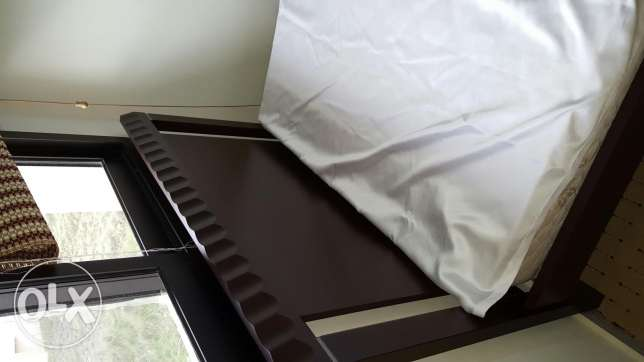 Bed with its mattress
