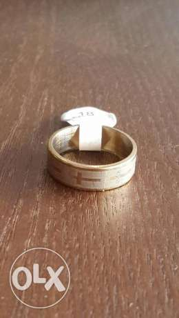 Gold & Silver Stainless Steel Rings