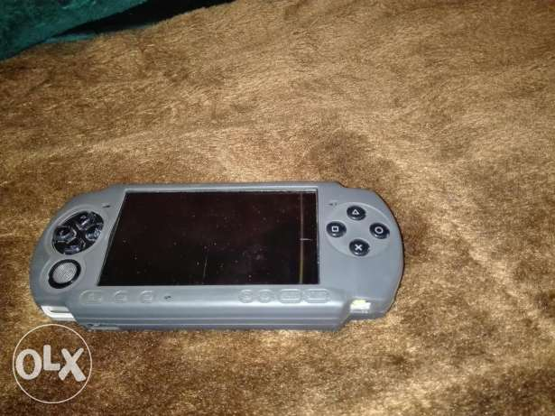 psp with 7 games