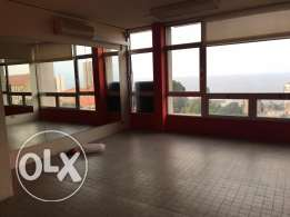 sea view office for rent in hamra near AUB