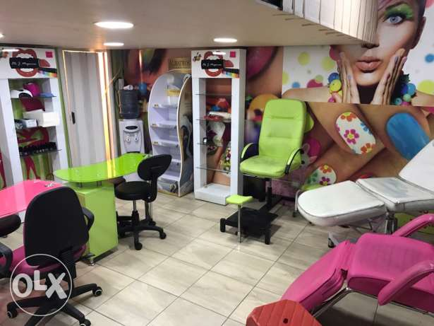 furniture nail spa for sale