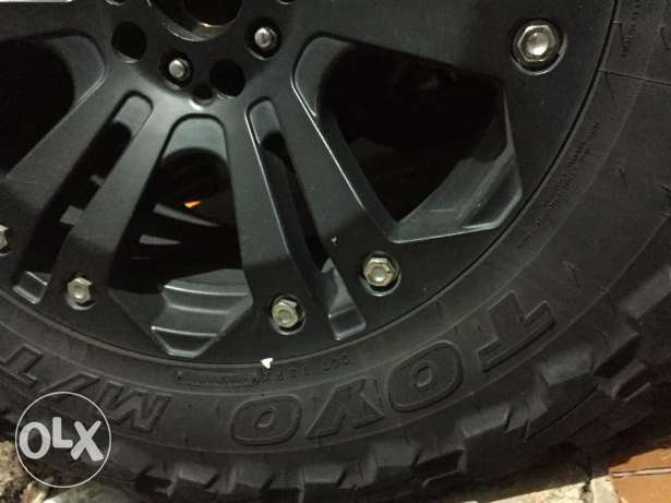 35inch Toyo Tires + XD Series 20inch Rims for Wrangler المتن -  3
