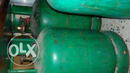 2 gas containers for sale