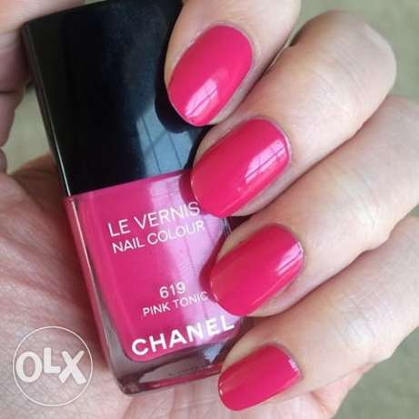 Chanel Pink Tonic 619 nail polish