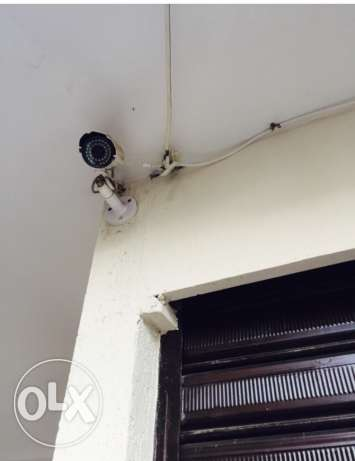 4 cameras and DVR and hard disk for sale