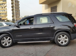 Gmc Acadia SLE 2008 black color for sale