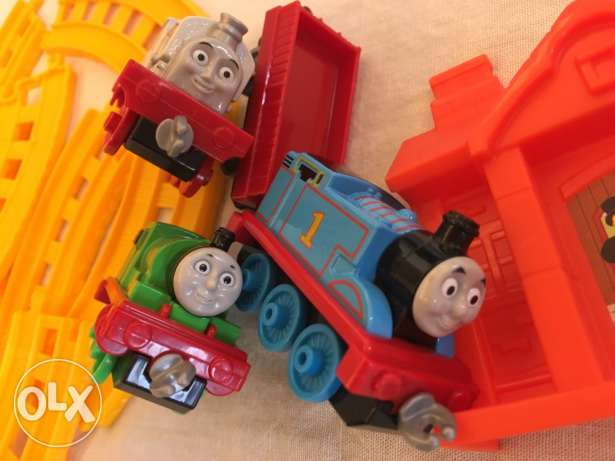 Thomas and friends toy set انطلياس -  2