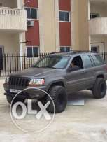 Grand Cherokee 2000, V8, lifted, very clean