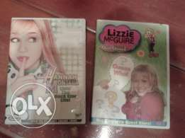hanna montana & lizzie mgwire original dvds