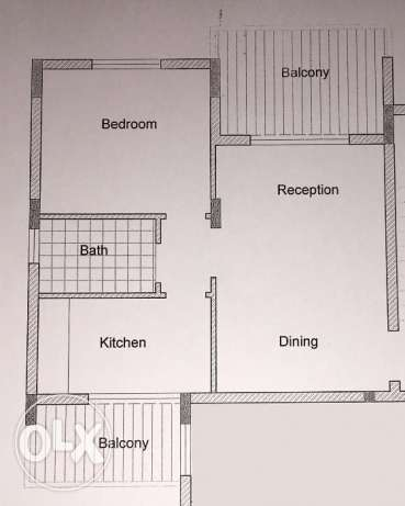 Apartment for sale in Bchele - Jbeil