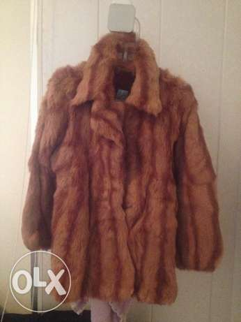 Genuine fur coat