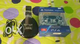 NEW Ps4 controller joystick and free duck charger