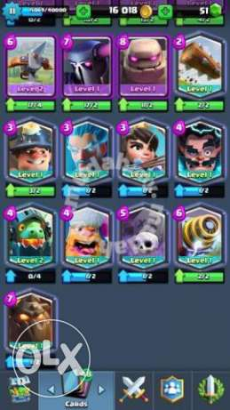 clash royal account for 30 $