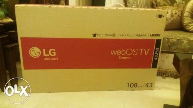 43 inches smart tv LG الميناء -  1