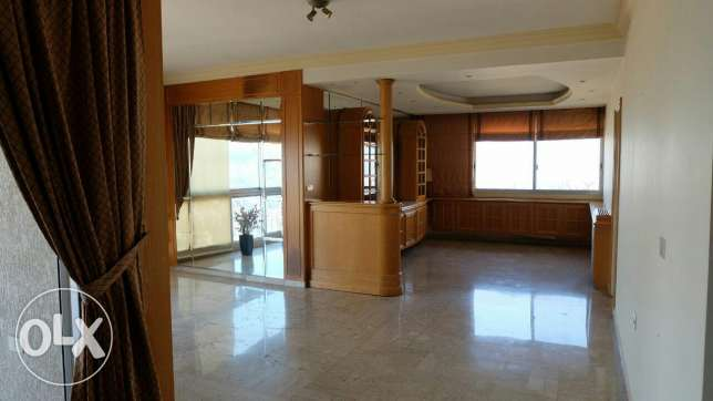 Panoramic View! Partly furnished apartment.