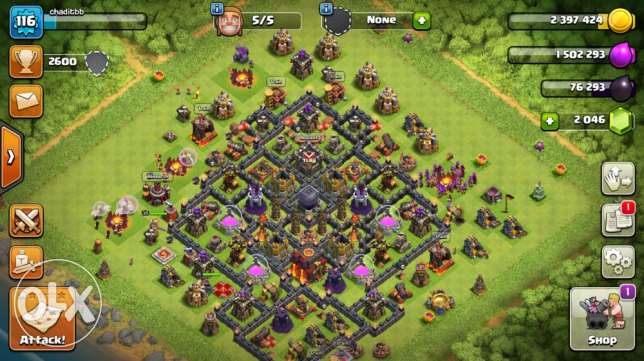clash of clans town hall 10 max